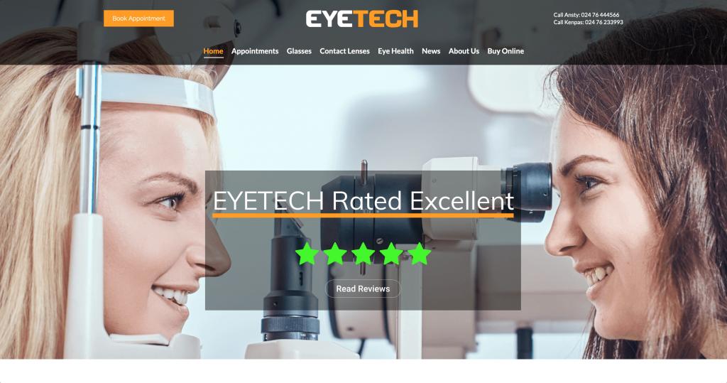 Eyetech website